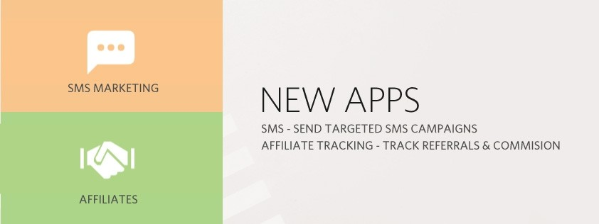 New Apps - SMS & Affiliates